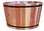 "Susquehanna 15 "" Barrel Planter"